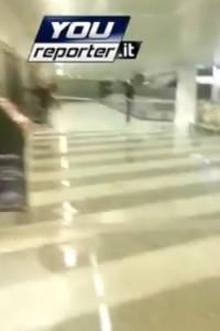 Milano, bomba d'acqua a Malpensa: voli sospesi per un'ora