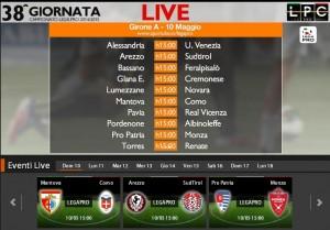 Mantova-Como: diretta streaming Sportube. Formazioni, link e info