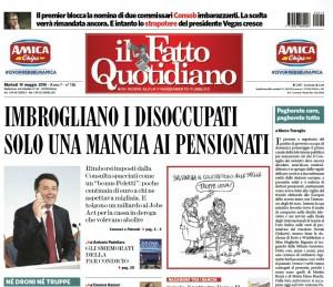 """Marco Travaglio sul Fatto Quotidiano: """"Pagherete caro, pagherete tutto"""""""