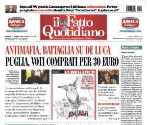"""Marco Travaglio sul Fatto Quotidiano: """"Non lo voglio più"""""""