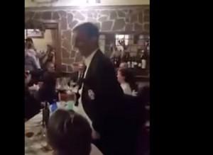 Massimiliano Allegri durante il discorso (foto YouTube)