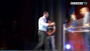 """Matteo Salvini a Roma. Ovazione: """"C'è solo un capitano"""" VIDEO"""