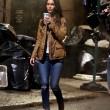 Megan Fox bionda sul set della Tartarughe Ninja FOTO