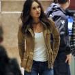 Megan Fox bionda sul set della Tartarughe Ninja FOTO 11