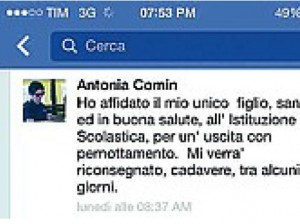 """Domenico Maurantonio, mamma Antonia Comin su Fb: """"Affidato a scuola, torna morto"""""""