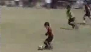 VIDEO YouTube - Quando Messi, a 9 anni, dribblava tutti
