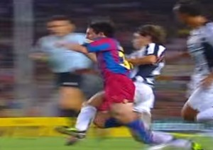VIDEO YouTube - quando Messi, a 17 anni, fece impazzire la Juventus