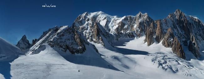 Monte Bianco, la FOTO panoramica è la più grande del mondo