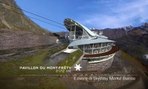 """VIDEO YouTube: Monte Bianco la nuova funivia è """"l'ottava meraviglia del mondo"""""""