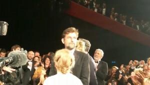 Cannes, 10 minuti di applausi per Mia Madre di Nanni Moretti. Lui si commuove