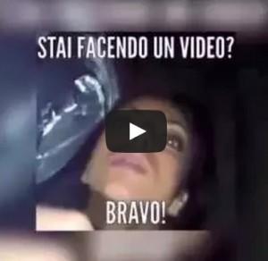 stai facendo il video