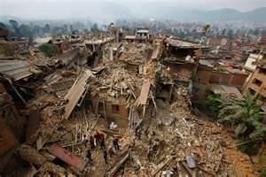 Devastazioni in Nepal