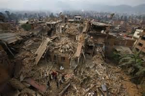 Devastazioni a Kathmandu