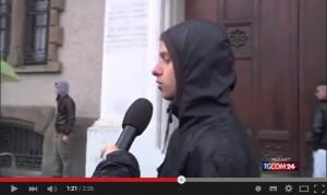 """Video YouTube No Expo, manifestante: """"Devastazione? Giusto così"""""""