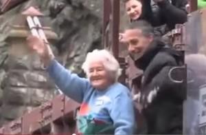 """si lancia a 91 anni col bungy jumping: """"Mio marito non me lo permetteva"""""""