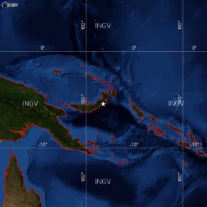 Terremoto Papua Nuova Guinea, scossa del 7,4 e allarme tsunami