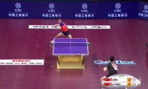 Ping Pong: Ma Long contro Fang Bo, il punto del secolo