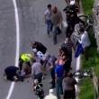 VIDEO YouTube, Domenico Pozzovivo cade sbattendo testa a terra al Giro d'Italia 05