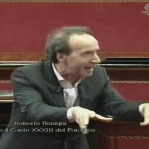 VIDEO YouTube. Roberto Benigni celebra anniversario nascita di Dante in Senato