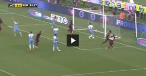 """Lazio-Roma. Guido De Angelis s'illude, poi Yanga-Mbiwa: """"Mammamia no"""" VIDEO"""