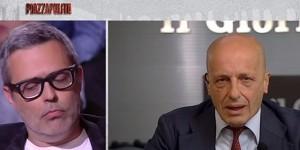 """Sallusti contro Frankie hi-Nrg e i rapper: """"Multinazionali che contestate vi pagano"""""""