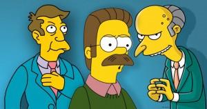Simpson: licenziato doppiatore Mr Burns, Ned Flanders e il preside Skinner