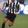 Zinédine Zidane con la maglia della Juventus (foto Lapresse)