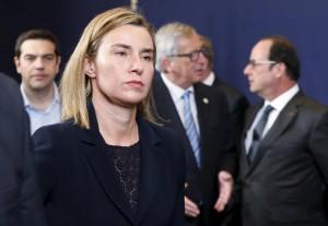 """Migranti, Federica Mogherini: """"Caccia ai flussi di denaro. Così fermeremo gli scafisti"""""""