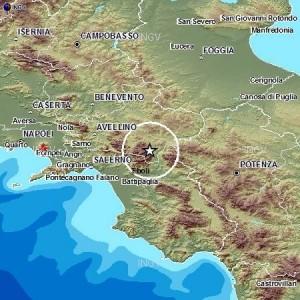 Terremoto Avellino, scossa del 3.1 tra Calabritto, Caposele, Lioni e Teora