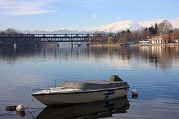 Il fiume Ticino (foto Wikipedia)