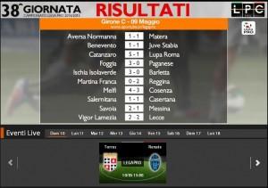 Torres-Renate: diretta streaming Sportube. Formazioni, link e info