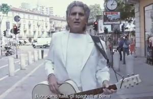 """VIDEO YouTube - Toto Cotugno canta """"L'italiano"""" in cinese"""