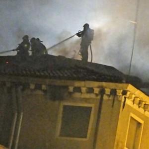 Venezia, incendio all'ospedale: va a fuoco ex Reparto di Medicina