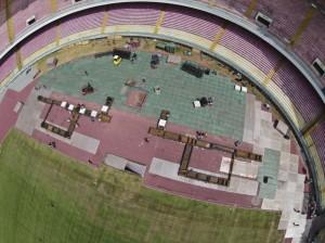 Vasco Rossi al San Paolo, il Napoli chiama la polizia per il palco