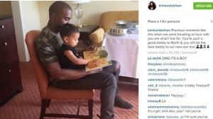 """Kim Kardashian: """"Dopo mia figlia North West, arriverà un maschietto"""""""