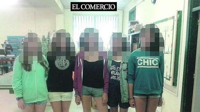 Spagna, studentesse escluse da gita perché in shorts FOTO