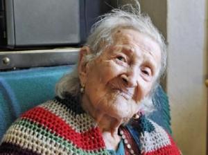 Emma Morano, 115 anni e 204 giorni: seconda donna più anziana del mondo