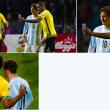 DeShorn Brown selfie con Messi dopo Argentina-Giamaica FOTO