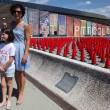 Agnese Renzi madrina a Pitti Bimbo: abito azzurro e linguaccia FOTO 5