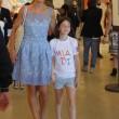 Agnese Renzi madrina a Pitti Bimbo: abito azzurro e linguaccia FOTO 6