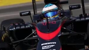 VIDEO YouTube - Fernando Alonso litiga col muretto McLaren in diretta radio
