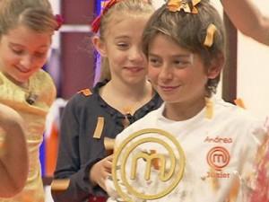 Andrea, 13 anni romano, è il nuovo Junior Master Chef Italia