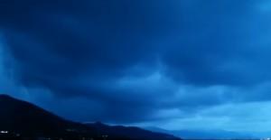 VIDEO YouTube - Temporale su Arenzano: ecco l'avvicinarsi della tromba d'aria