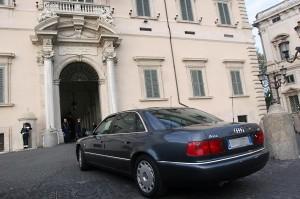 Auto blu: ecco i tagli, ministero per ministero