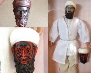 Bin Laden pupazzo con occhi da diavolo: progetto Cia per bambini pachistani