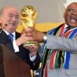 """Fifa-Blatter. Sudafrica: """"Pagati 10 mln per Mondiali 2010, ma non era tangente"""""""