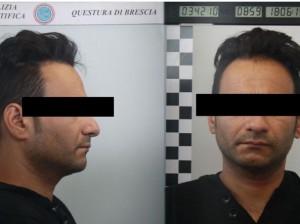 Arrestato con 36 nomi falsi, per ognuno lunga lista condanne