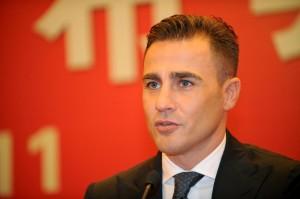 Fabio Cannavaro esonerato dal Guanghzou: in panchina arriva Scolari