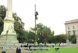 Carolina del Nord, rimuove bandiera da sede Parlamento: arrestata