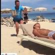 VIDEO YouTube - Antonio Cassano fa gavettone a Criscito in spiaggia 5